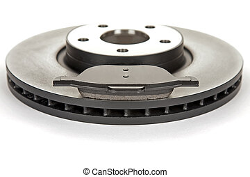 brake disc and brake pad - new brake disc and a new brake...
