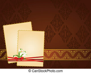 Vintage tapestry background