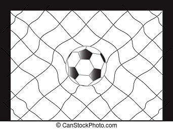 Football Soccer with Net