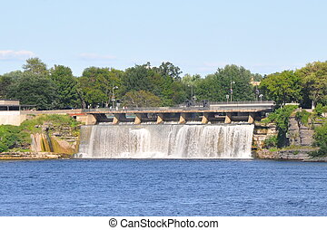 Rideau Falls in Ottawa