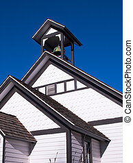 School house - An old school house in country.