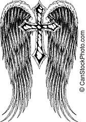 cross wing emblem