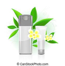 SPA cosmetics series. cosmetics bottles - SPA cosmetics...