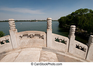 Bridge in Bejings summer palace