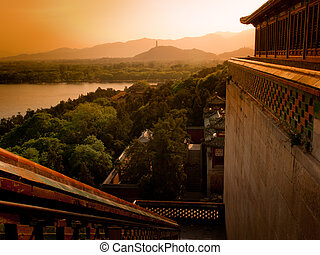 Summer Palace in Beijing, China - The imperial Summer Palace...