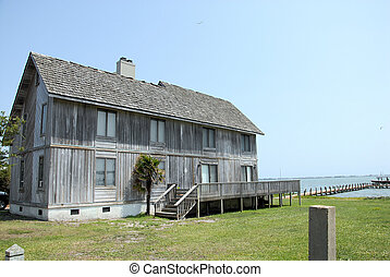 OCean view - A house with an ocean view in North Carolina