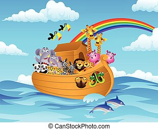 Noah Ark - Vector illustration of Noahs Ark