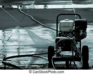 Pressure washer - high pressure washer