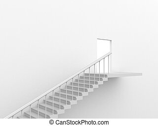 Exit - Stairs leading to the exit