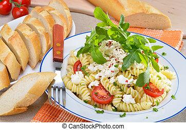 Italian noodle salad