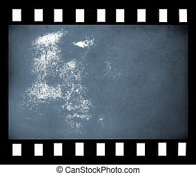 Abstract film strip