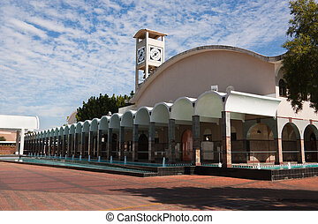 parliament of Botswana - building of the Botswana parliament...
