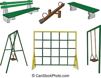 playground collection - vector