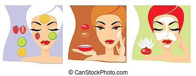 cosmetology - Independent female cosmetology procedures