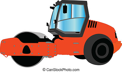 roller - vector - illustration of roller - vector