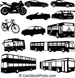 traveling vehicle - vector - illustration of traveling...