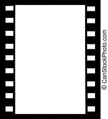 Film strip - vertical format background