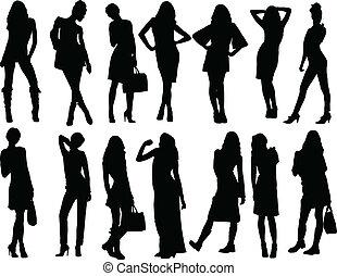 women - vector