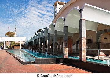 parliament of Botswana - building of the Botswana parliament...