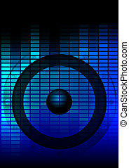 Party Background - Music Party Background - Loudspeaker and...