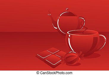 sweet tea-drinking