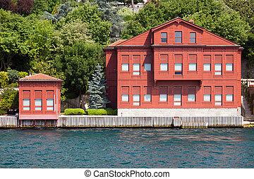 Villa on the Bosphorus Strait