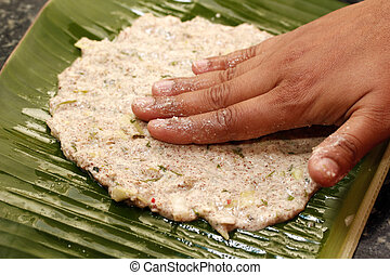 Making indian bread