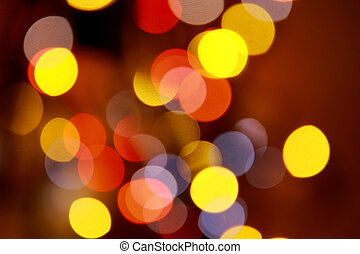 Bright colorful abstract bokeh circles for background