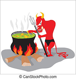 red devil cooking