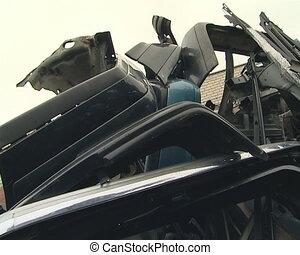 Car dump. Bumper, seat