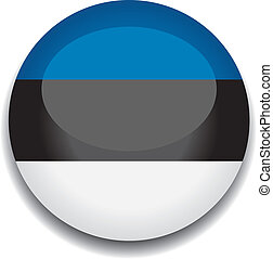 estonia flag button