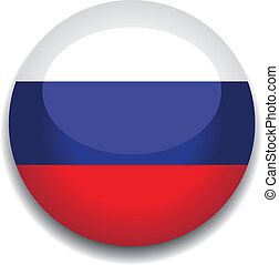 russia button flag