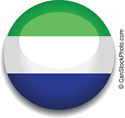 sierra leone button flag