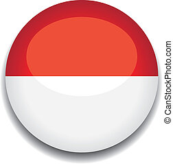 monaco button flag