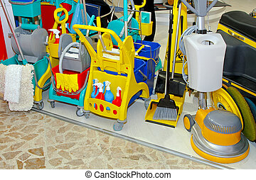 Proffessional cleaning equipment