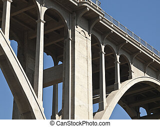 Pasadena California Colorado Blvd Bridge - Pasadena's...