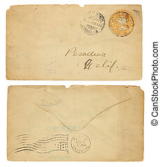 Vintage 1902 Mexican Envelope