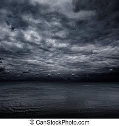 mer, ciel