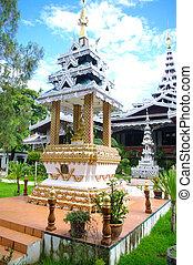 Stupa at Wat Phratat Doi Kong Mu