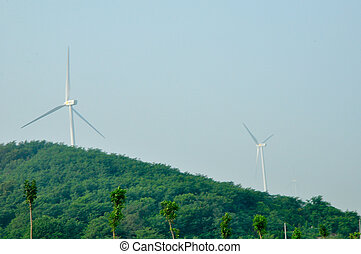 power mills - a big wind power mill in china
