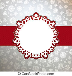 Christmas background with copyspace EPS 8 vector file...
