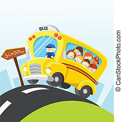 School Bus - Back to school.
