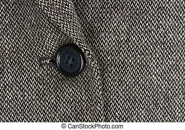Tweed jacket detail, fashion concept