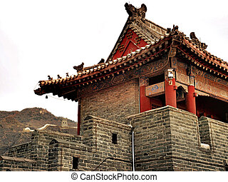 House at the Chinese wall
