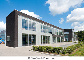 modern office building - small modern office building...