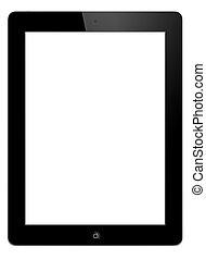 tablette, PC, -, IPAD, 2
