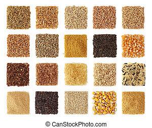 cereali, collezione