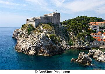 Citadel in Dubrovnik, Croatia