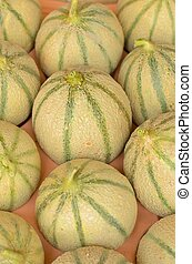 Melones, caja