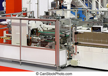 Carton packaging line